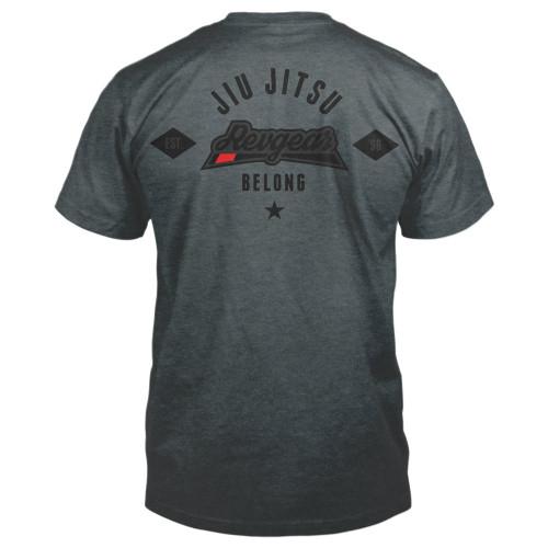 Revgear Belong BJJ Shirt - Charcoal Heather