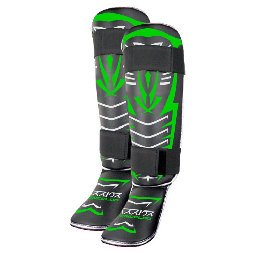 Warrior Tribal Shin Guard - Youth
