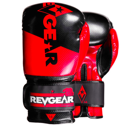 Pinnacle P4 Boxing Glove - Red/Black