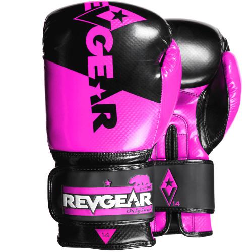 Pinnacle Boxing Glove - Black/Pink