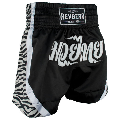 Apsara Thai Shorts - Zebra