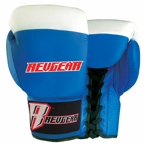 Amateur Lace Boxing Gloves - Blue