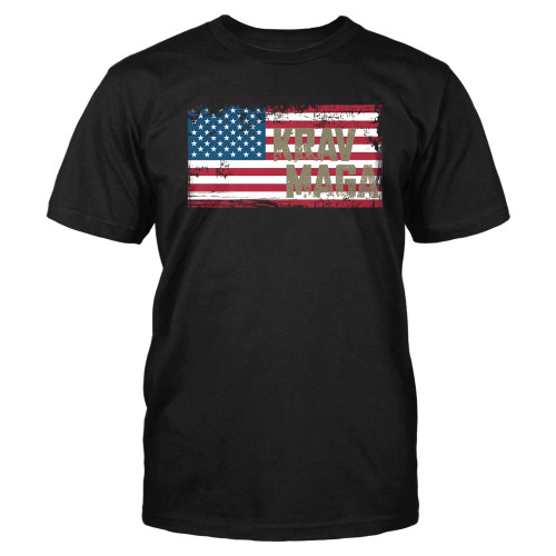 Mens KM Flag Tee