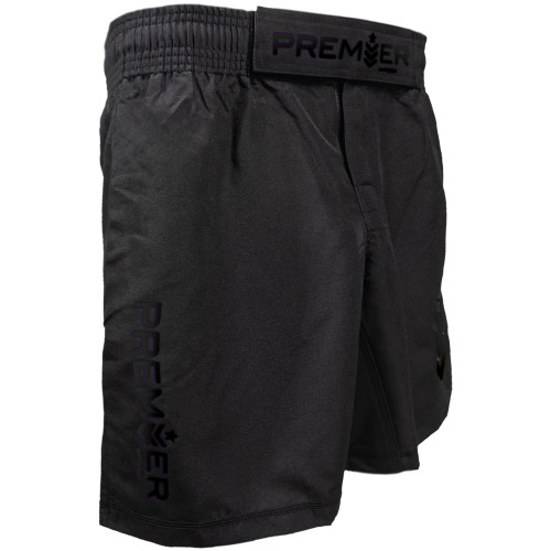 Premier Shorts - Youth - Black/Black