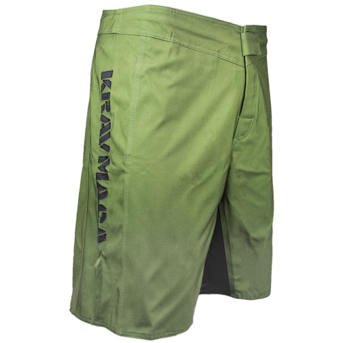 Krav Maga Black Ops One Shorts - Olive Green