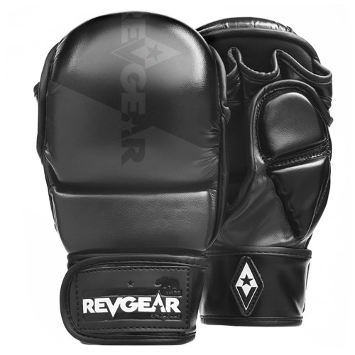 Pinnacle P4 MMA Training and Sparring Glove - Black/Matte Black