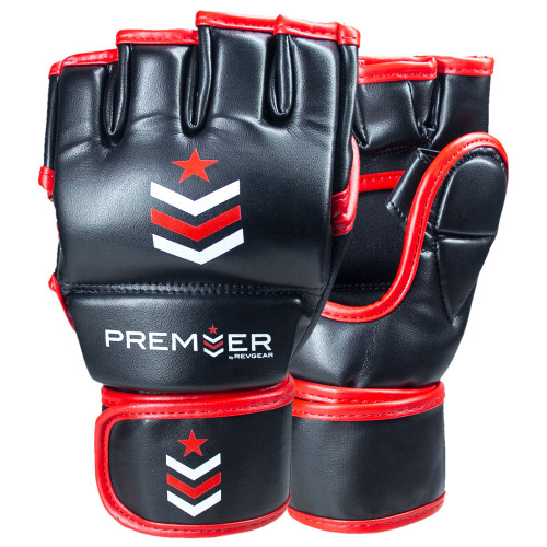 Premier Deluxe MMA Glove - Black/Red