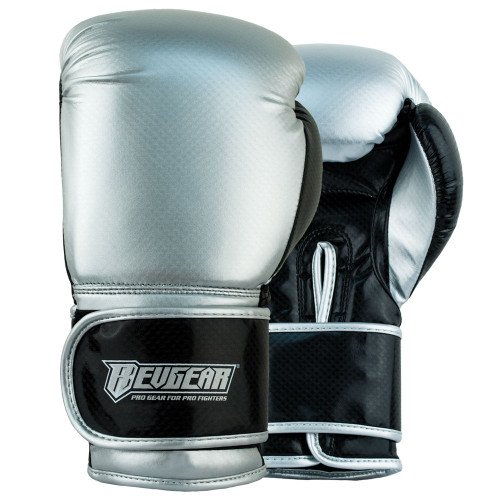 Pinnacle P2 Boxing Gloves - Black/Silver