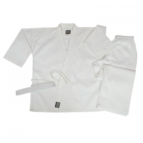 7.5 oz Middleweight Traditional Gi - White
