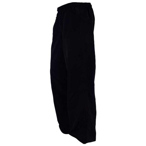 Revgear Adult Nylon Pant - NEW - Solid Black - No Stripes!