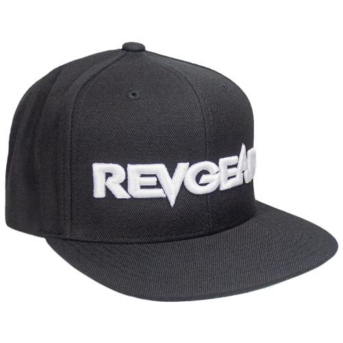 3D Premium Snapback Hat - Black