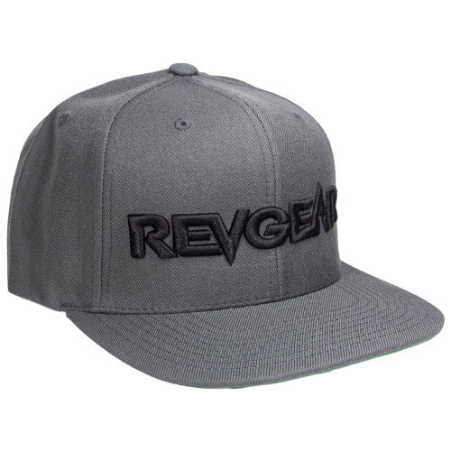 3D Premium Snapback Hat - Grey