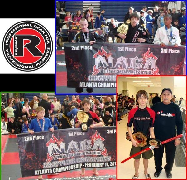 Parker Graham Dominates NAGA Atlanta - Revgear