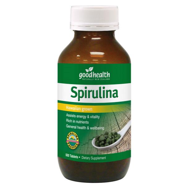 Spirulina (Hawaiian Grown) - 500 Tablets