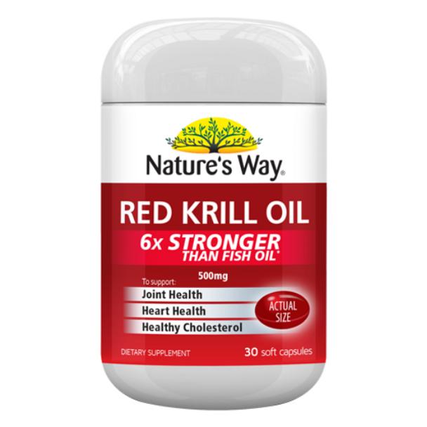 Red Krill Oil 500mg - 30 Softgels