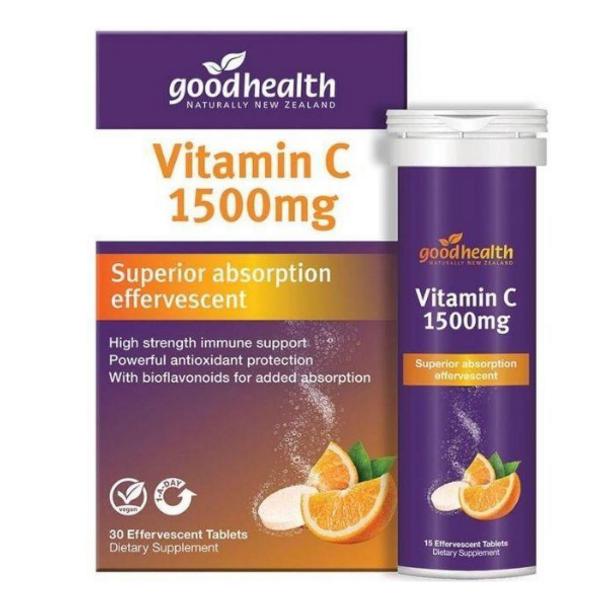 Vitamin C 1500mg - 30 Effervescent Tablets