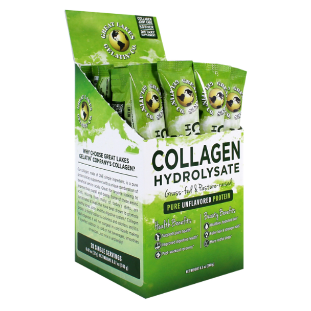 Collagen Hydrolysate Convenience Pack - 20 x 12gm sachet