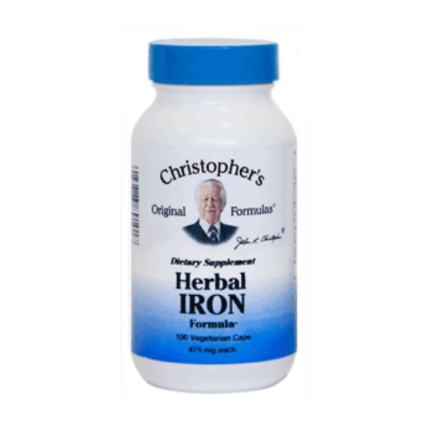 Herbal Iron - 100 Vege Capsules