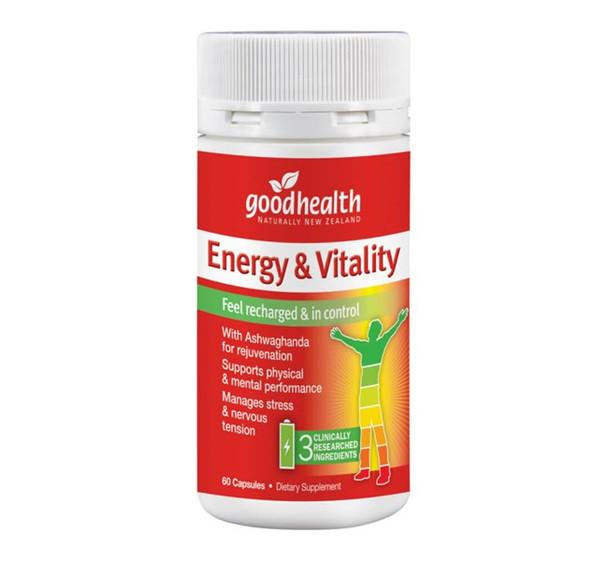 Energy & Vitality - 60 Capsules