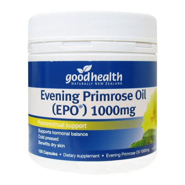 Evening Primrose Oil 1000mg (Cold Pressed) - 150 Capsules