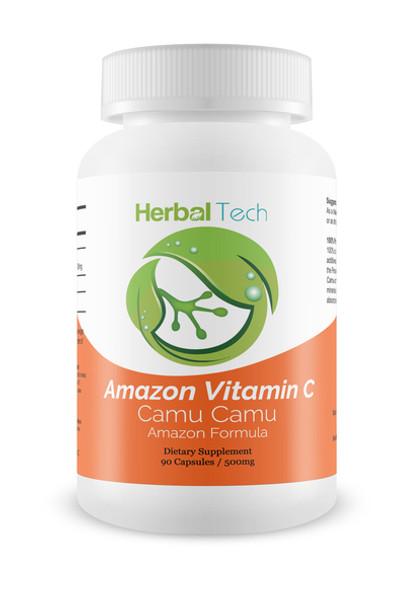 Amazon Vitamin C (Camu Camu) 500mg - 90 Capsules