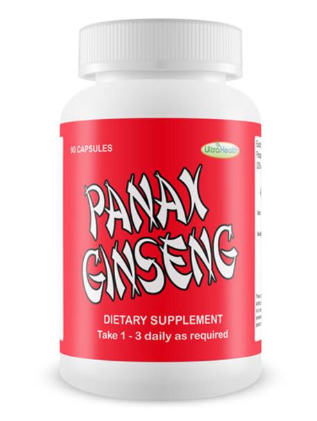Panax Ginseng - 90 Capsules