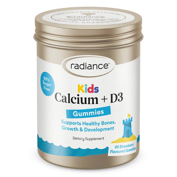 Kids Gummies Calcium and Vitamin D3 - 60 Gummies