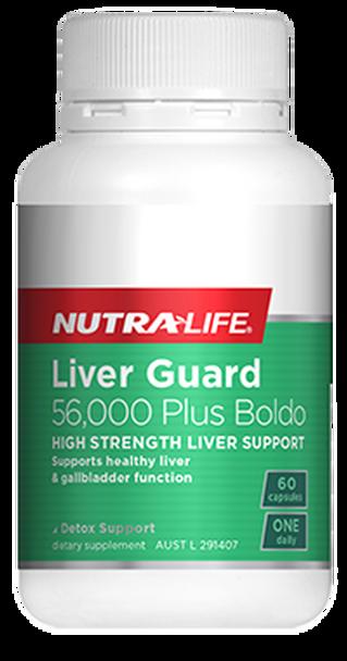 Liver Guard 56000 Plus Boldo - 60 Capsules