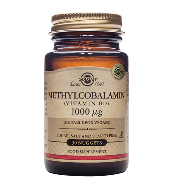 Methylcobalamin (Vitamin B12) 1000mcg - 30 Nuggets