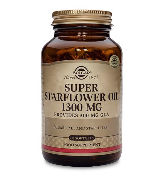 Super Starflower Oil 1300mg - 60 Softgels