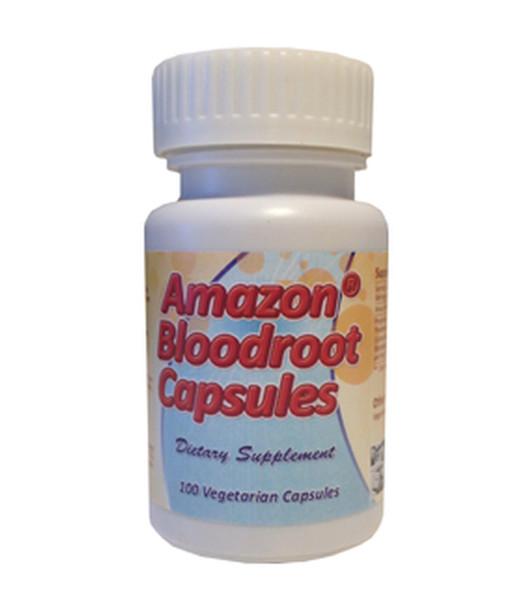 Amazon Bloodroot 500mg - 100 Vege Capsules