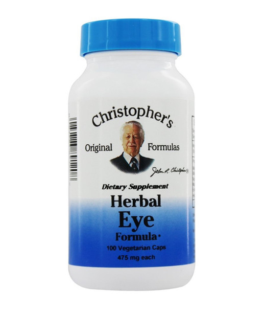 Herbal Eye Formula - 100 Vege Capsules