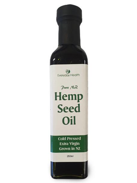 Hemp Seed Oil (Cold Pressed Extra Virgin) - 250ml