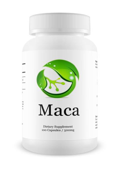 Maca (Organic & Gelatinised) - 100 Capsules