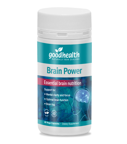 Brain Power - 60 Vege Capsules