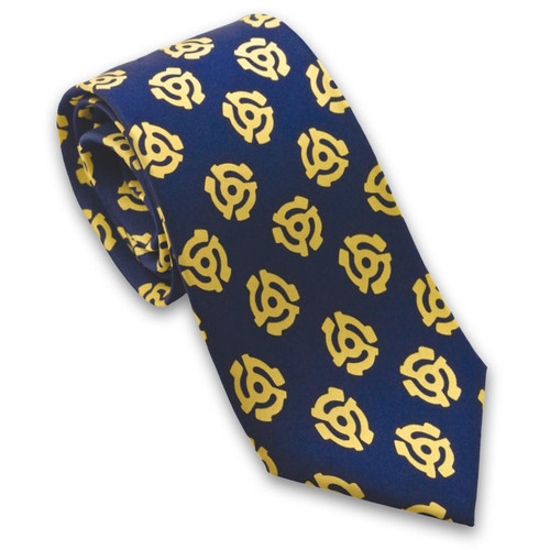 Navy 45 Adapter Silk Tie