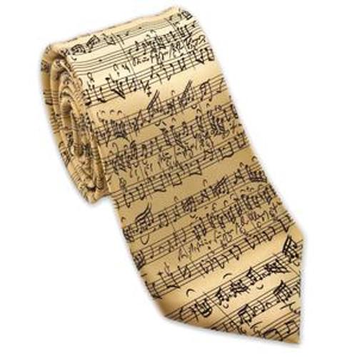 Music Silk Tie