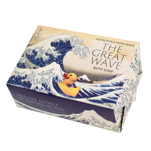 The Great Wave Bath Soap