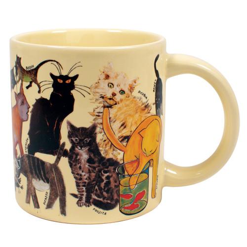 Artistic Cat Mug