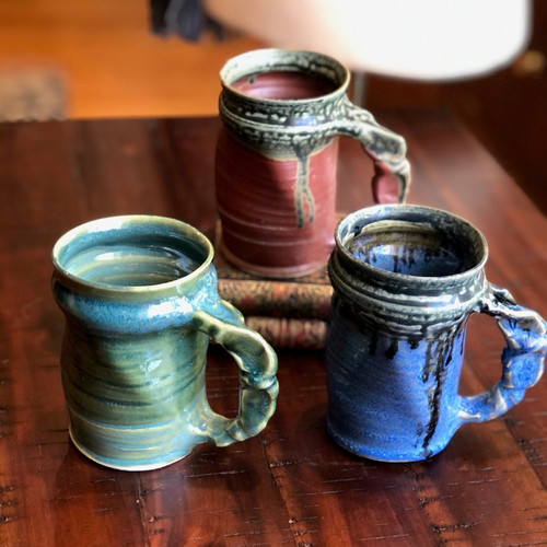Handmade Twisted Mugs