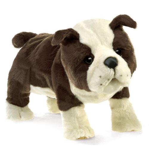 English Bulldog Puppy Puppet