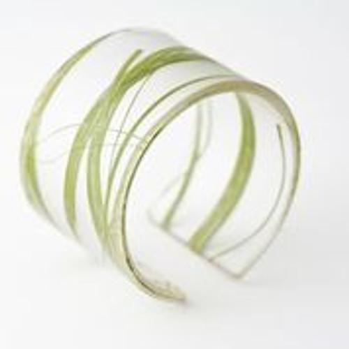 Ecoresin Wide Seaweed Cuff