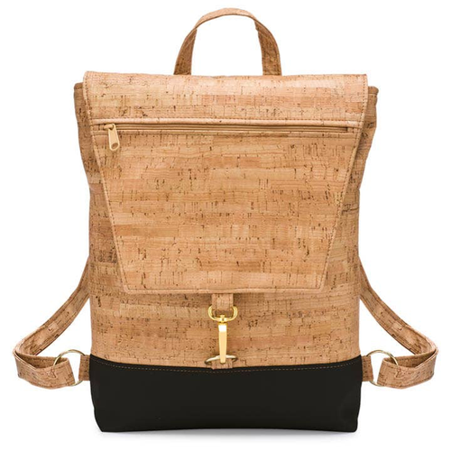 Handmade Eco-friendly Cork Be Breezy Backpack