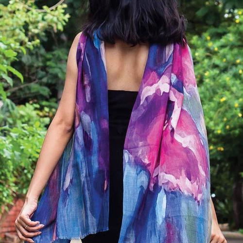Luxurious Reena 100% Wool Shawl
