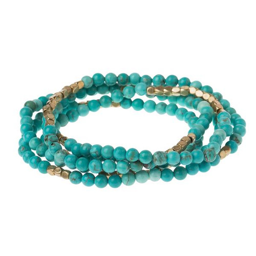 Turquoise/ Gold - Stone of the Sky