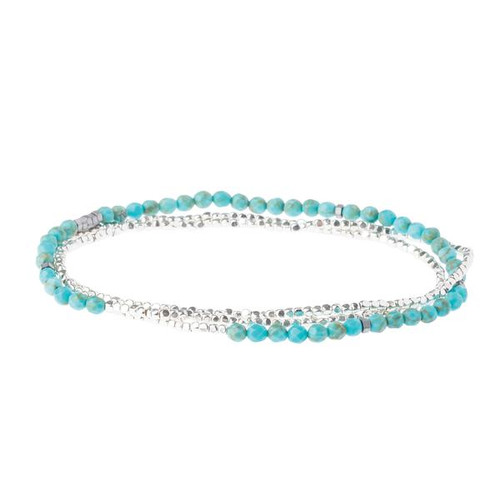 Delicate Stone Turquoise/Silver - Stone of the Sky