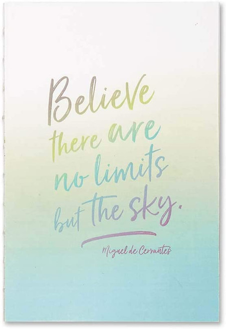 Believe There Are No Limits Softcover Journal