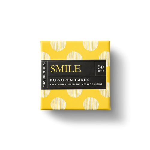 Smile Pop-Open Cards