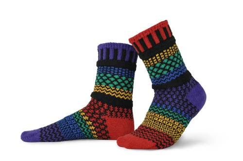 Fun, Colorful, Eco-friendly and American Made Socks - Gemstone