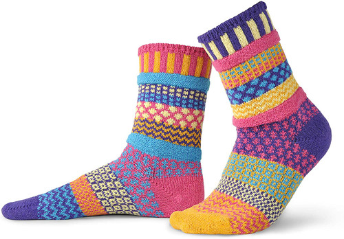 Fun, Colorful, Eco-friendly and American Made Socks - Sunny